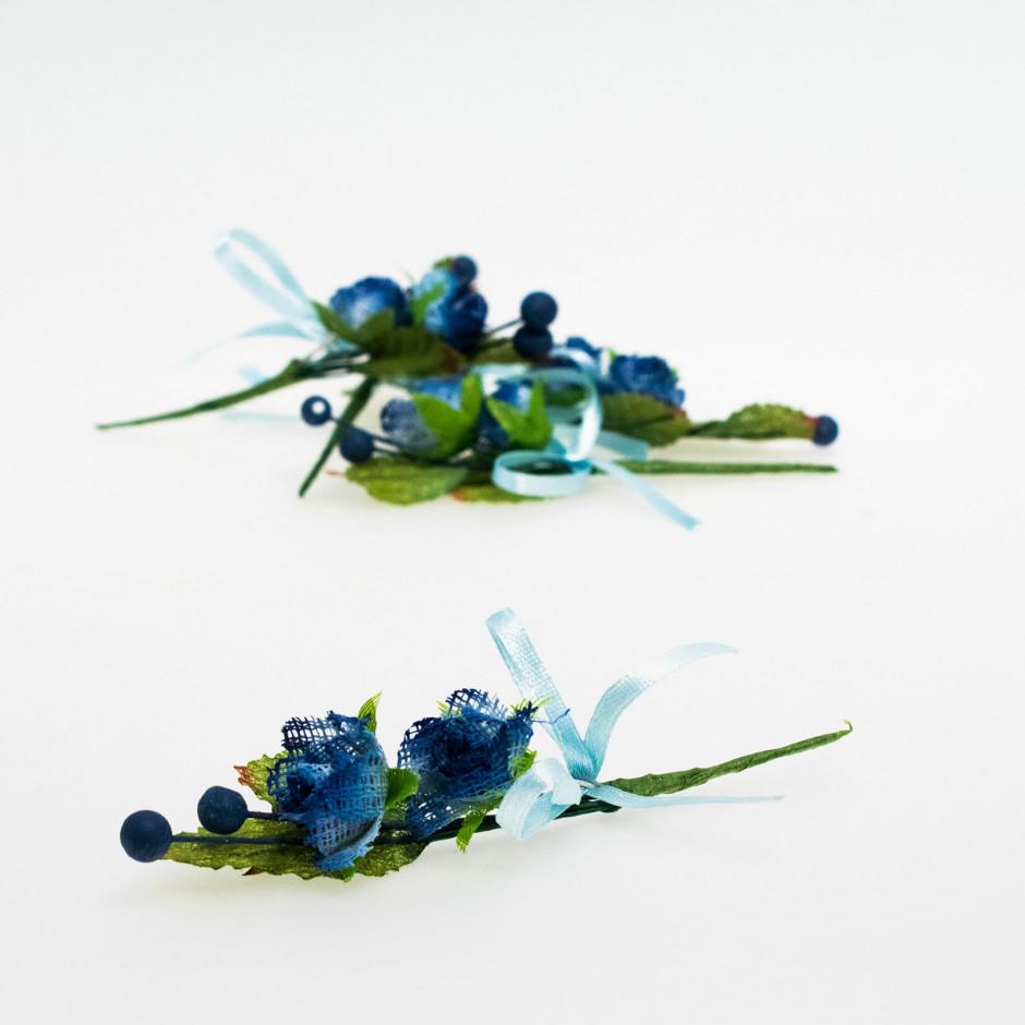 Pick 2 flores azules (pack de 10 unidades)