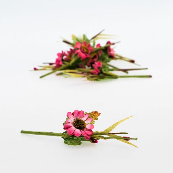 Pick flor fucsia (pack de 10 unidades)