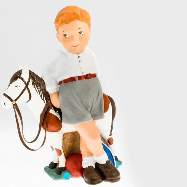 Rafael con caballo