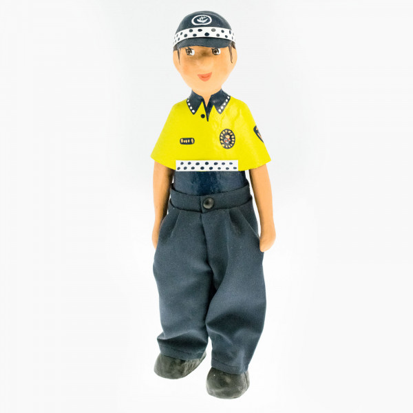 Policía municipal chica