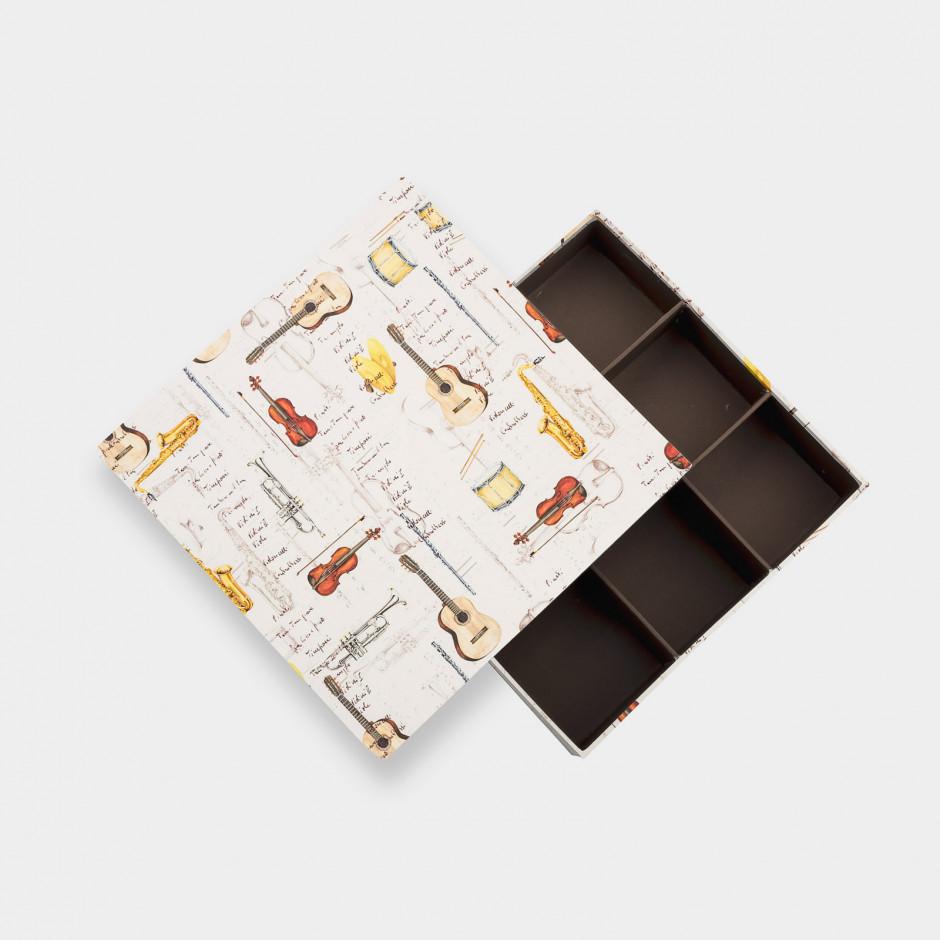 Caja de 9 compartimentos