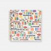 Álbum de fotos cuadrado con tapas personalizadas