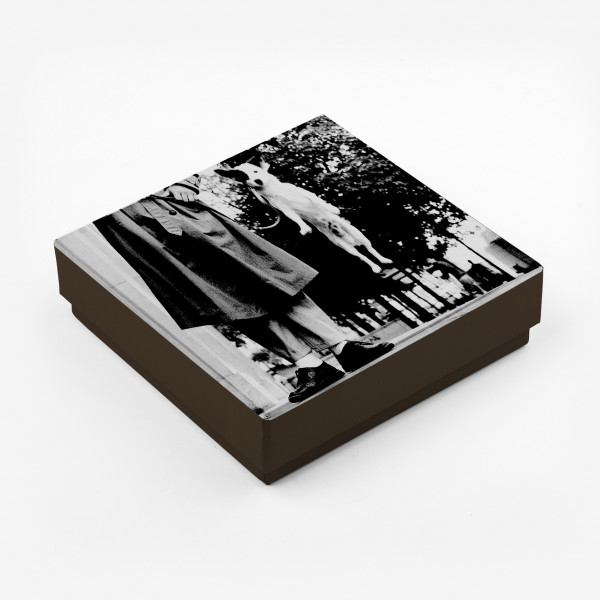 Caja personalizada con foto (cuadrada baja)