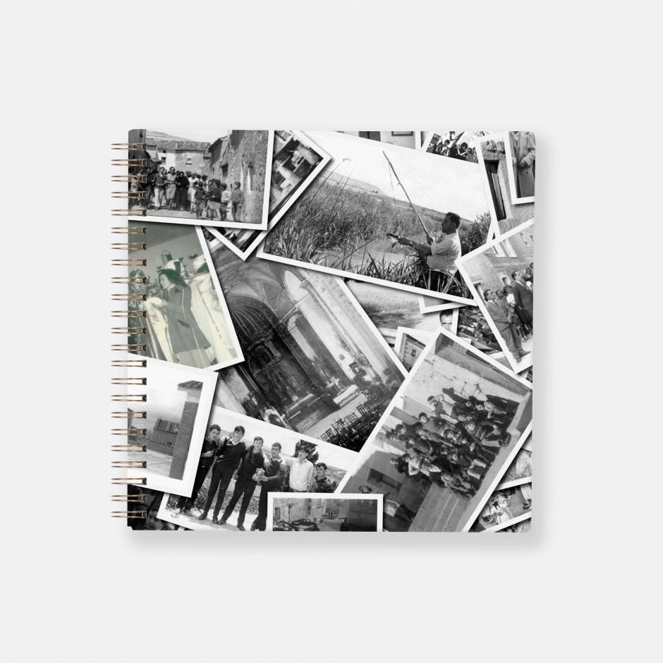 Álbum espiral personalizado con foto