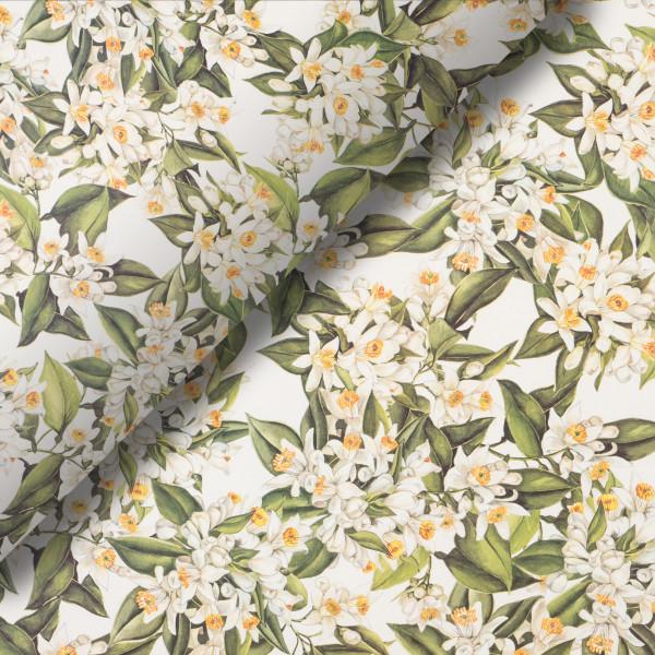 Pliego de papel Flor de naranjo