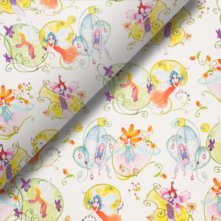 Pliego de papel Hadas