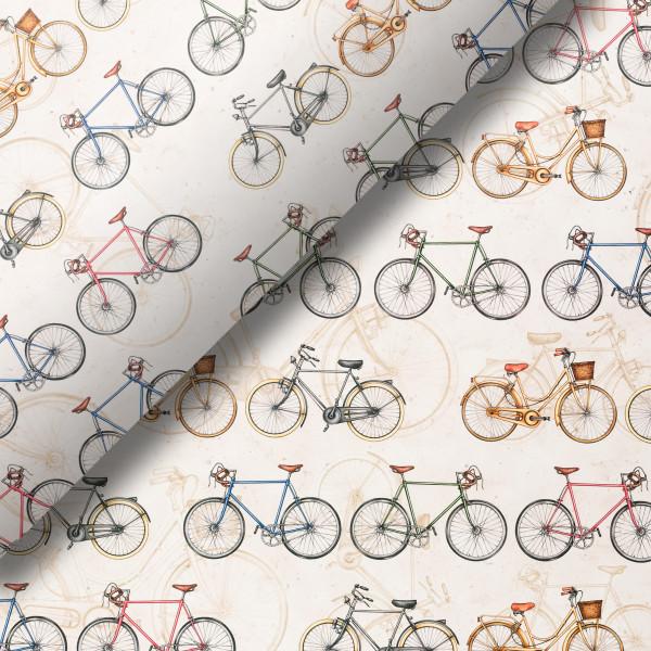 Pliego de papel Bicicletas