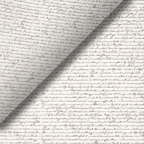 Pliego de papel Escritura
