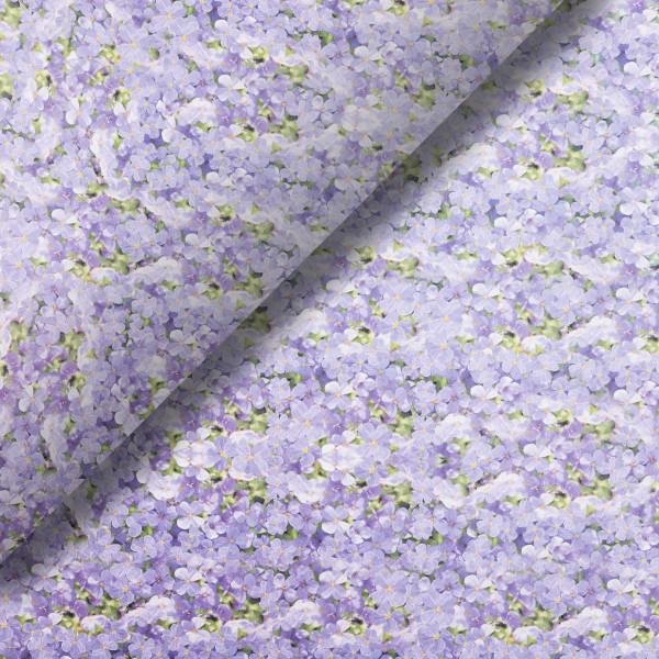 Pliego de papel Violetas