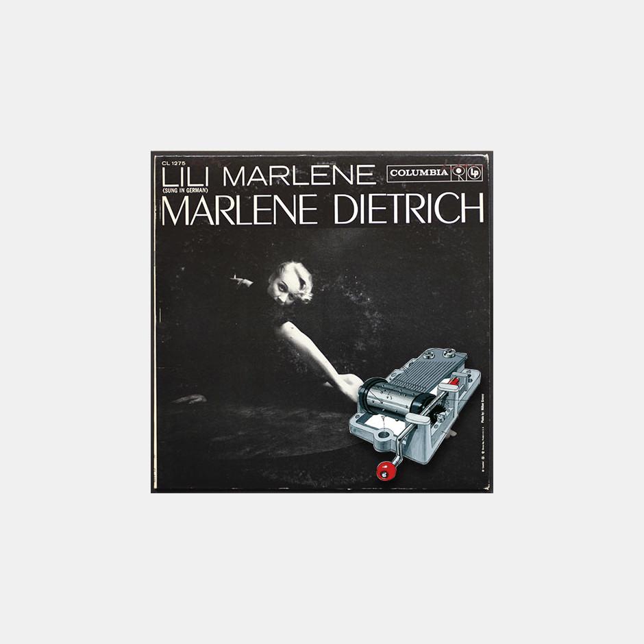 Caja de m/úsica de manivela Lili Marlene Marlene Dietrich