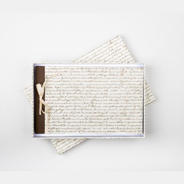 Álbum de fotos de 21x33 con caja