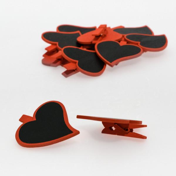 Corazón con pinza (pack de 12 unidades)