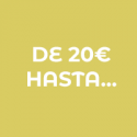 Desde 20 euros hasta…